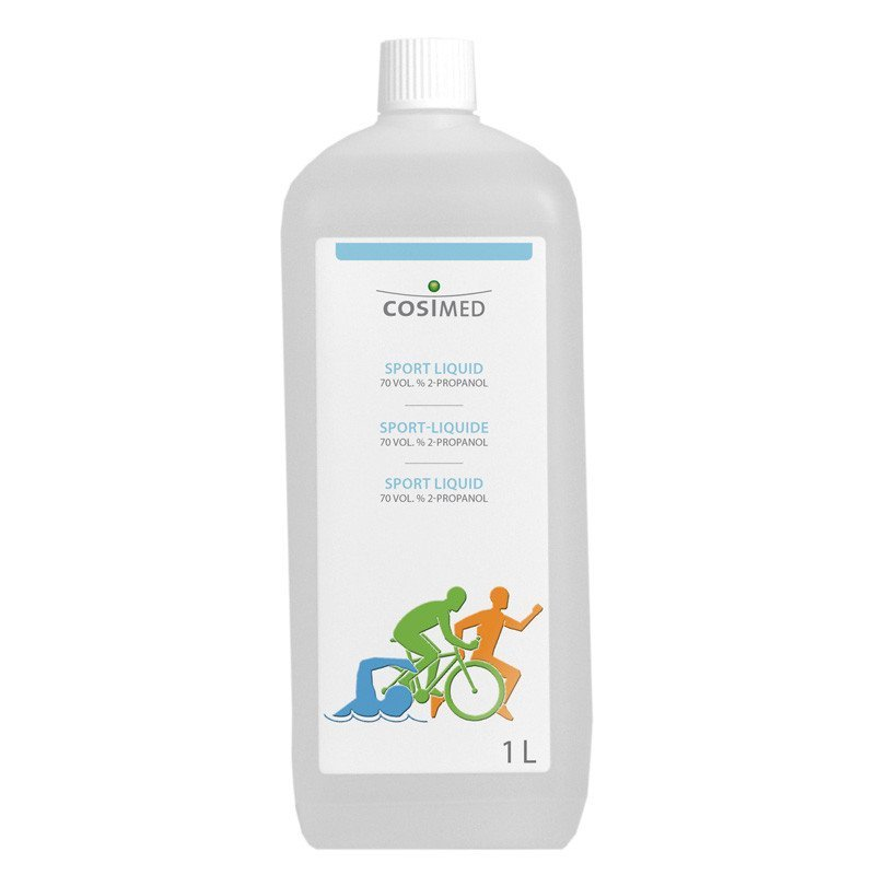 Sport-Liquid Einreibemittel 1 Liter von cosiMed