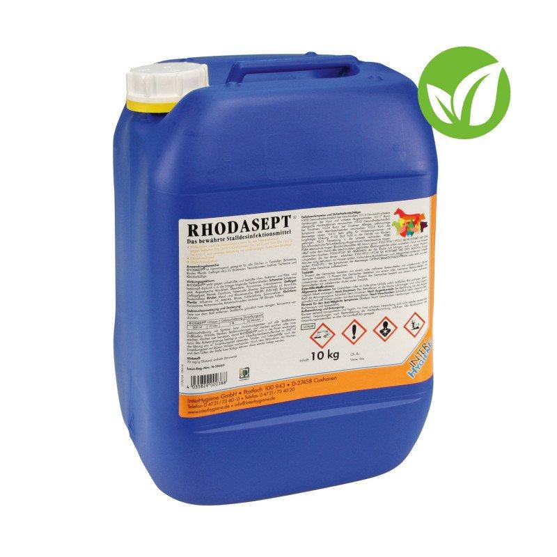 Rhodasept geruchsreduziertes Stalldesinfektionsmittel 10 kg, zur Desinfektion von Flächen und Kleintierställen