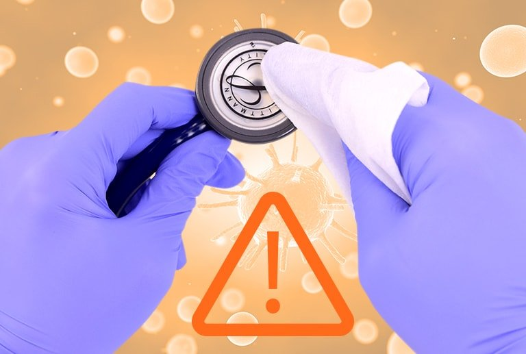 Stethoscope Disinfection