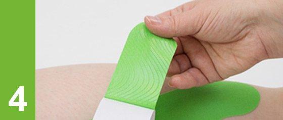 Conseils de taping kinésiologique: intervalle de temps