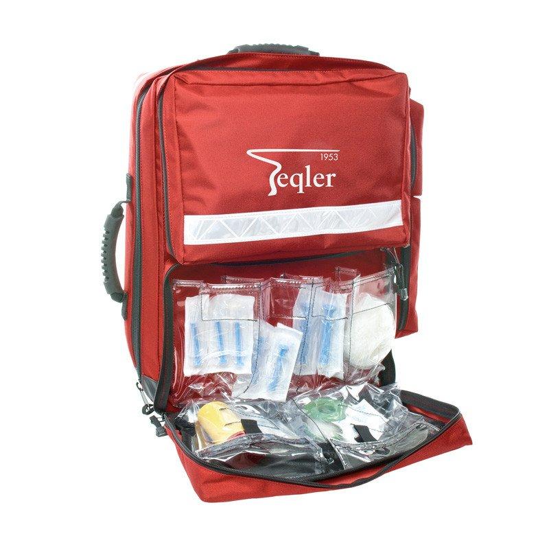 Plecak ratownika z wyposażeniem