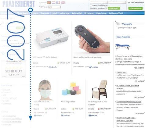 Praxisdienst online