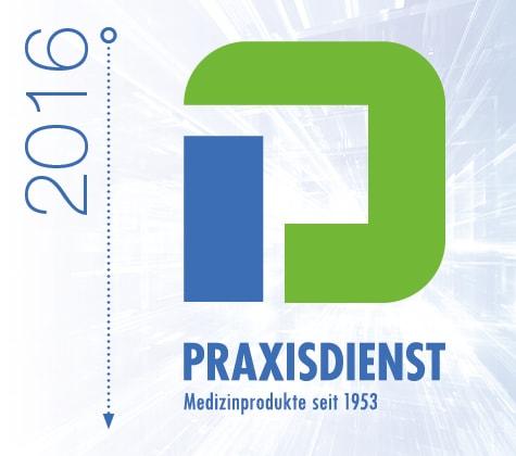 Praxisdienst im Jahr 2016
