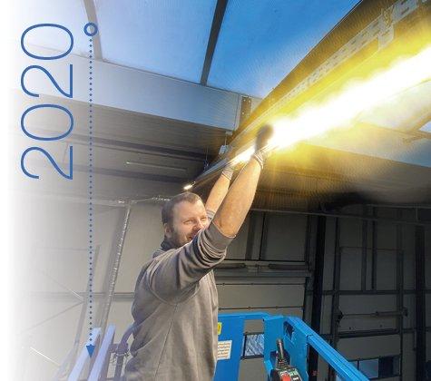L'éclairage LED dans la logistique Praxisdienst