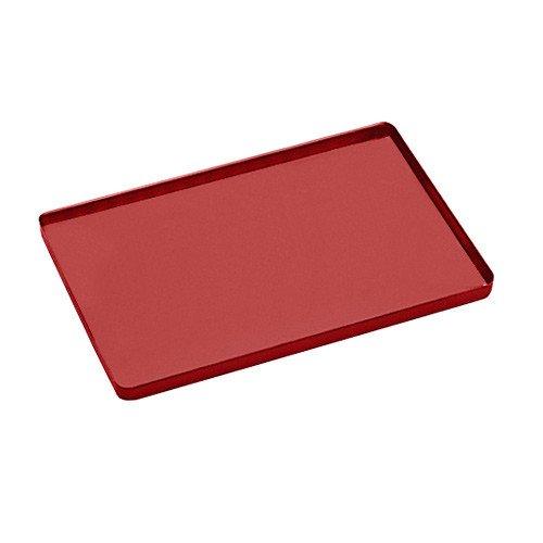 Roter Trayboden von Euronda