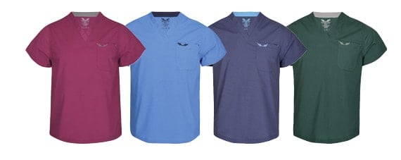 Canberroo Unisex Scrub Tops
