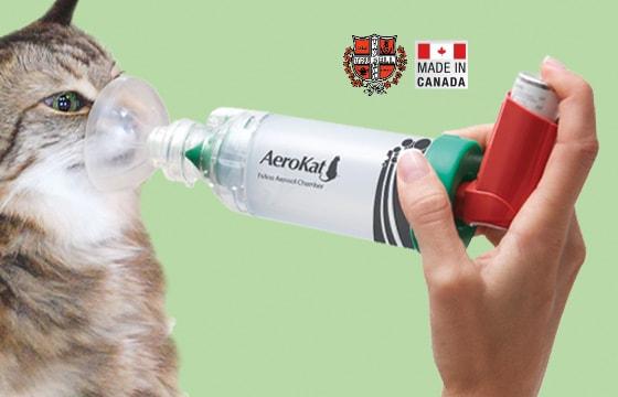 Inhalador para gatos AeroKat