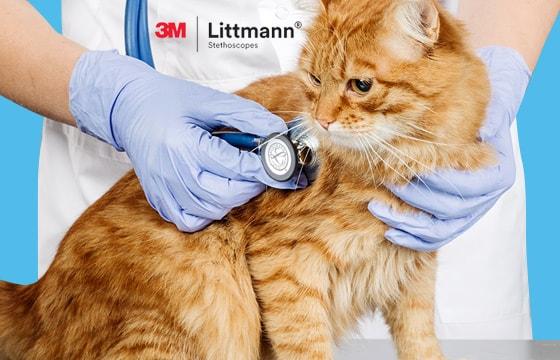 Littmann® stethoscopen voor diergeneeskundig gebruik