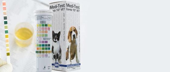 Urinteststreifen für Tiere