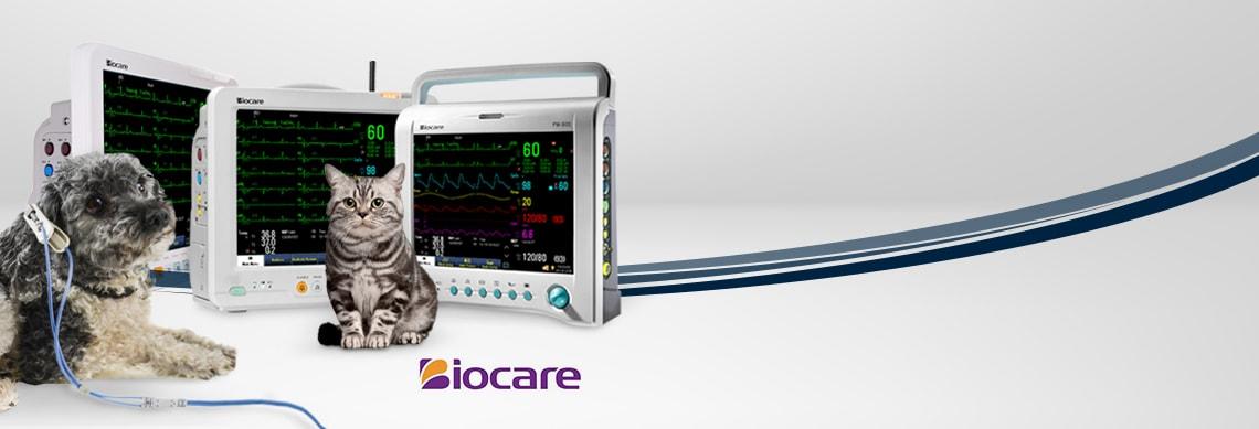 Tiermedizinische Überwachungsmonitore von Biocare