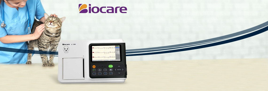 ECG veterinario Biocare iE 300