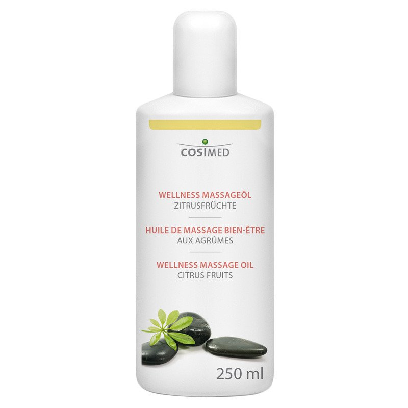 Wellness Massage Oil, Citrus Fruits 250 ml