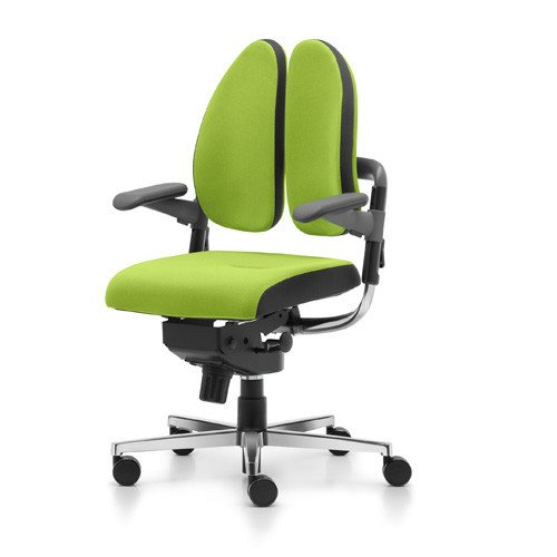 Rohde & Grahl Bürostuhl Xenium Duo-Back® mit Freework®-Mechanik hellgrün